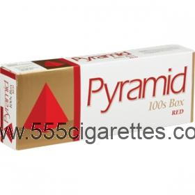 Pyramid Red 100's Cigarettes