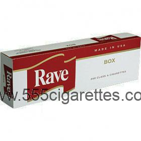 Rave Red Kings cigarettes