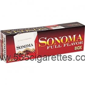 Sonoma Red Kings cigarettes