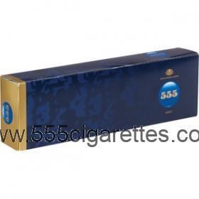 State Express 555 Gold cigarettes