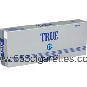 True 100's cigarettes