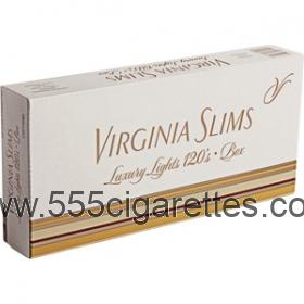 Virginia Slims 120's Gold cigarettes