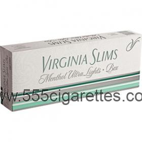 Virginia Slims Menthol Silver cigarettes