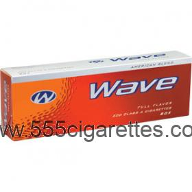 Wave 100's cigarettes