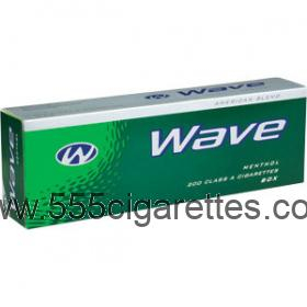 Wave Menthol Kings cigarettes