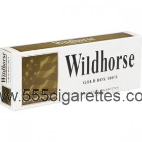 Wildhorse Gold 100's Cigarettes