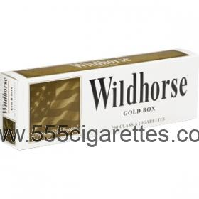 Wildhorse Gold Box Cigarettes