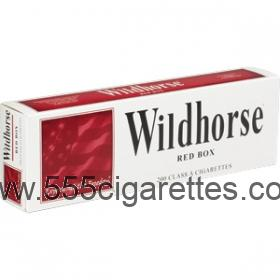 Wildhorse Red Cigarettes