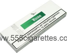 Winston Superslims Fresh Menthol Cigarettes