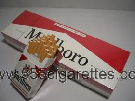 marlboro king size flip-top box cigarettes